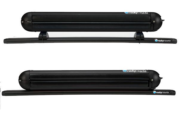 rockymounts liftop ski rack mounted rooftop