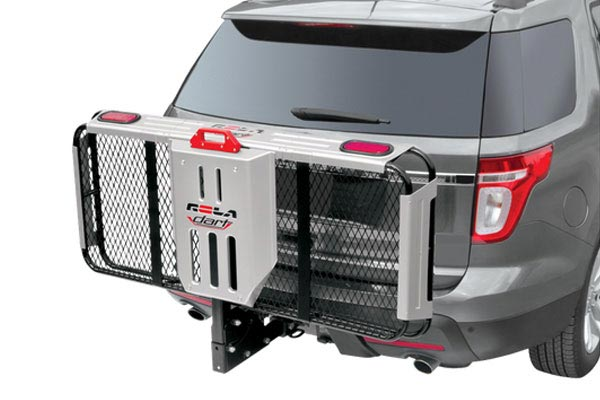 rola dart premium folding hitch mounted cargo carrier 3