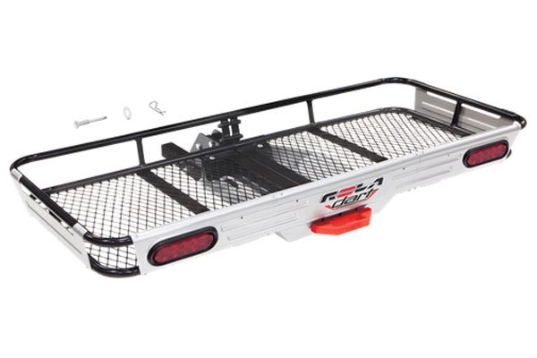 rola dart premium folding hitch mounted cargo carrier 5