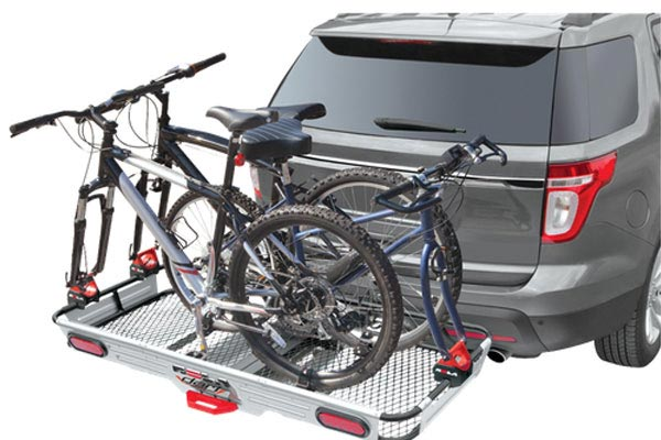 rola dart premium folding hitch mounted cargo carrier 7