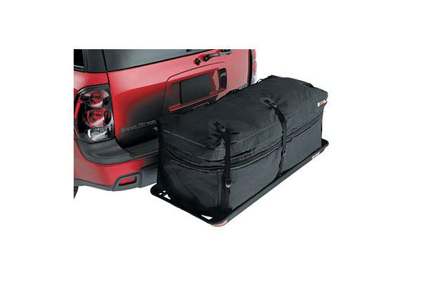 rola expandable cargo carrier storage bag on cargo basket