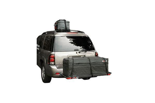 rola expandable cargo carrier storage bag tie straps