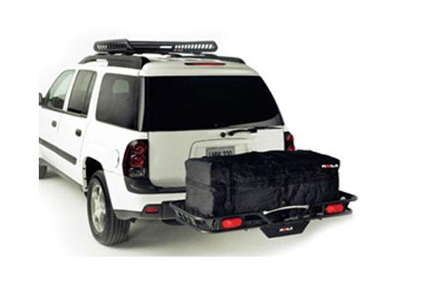 rola hitch mounted cargo carriers box lights