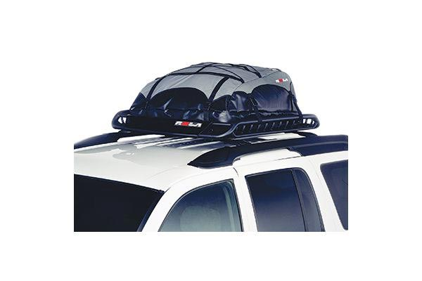 rola platypus expandable roof top cargo bag installed