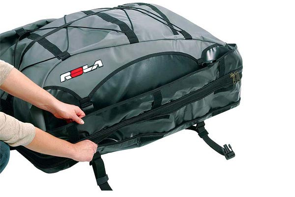 rola platypus expandable roof top cargo bag zippered