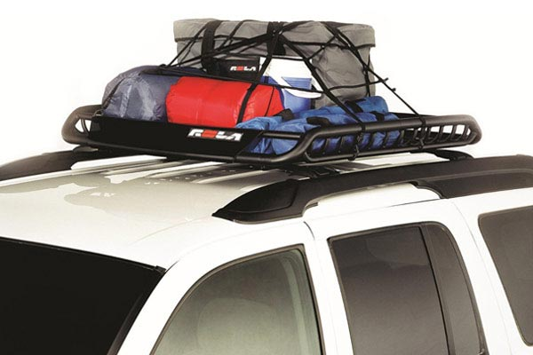 rola vortex roof mounted cargo basket net