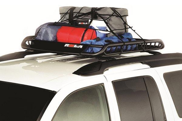 rola vortex roof mounted cargo basket net