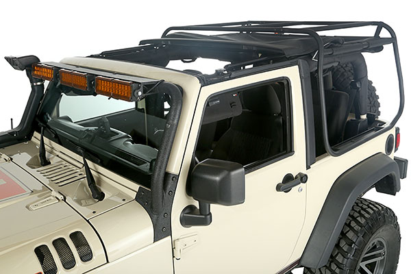 rugged ridge exo top cargo rack system sunroof