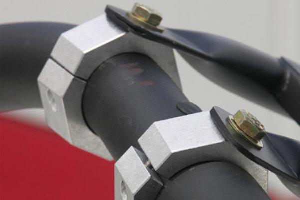 smittybilt defender roof rack light bar clamp