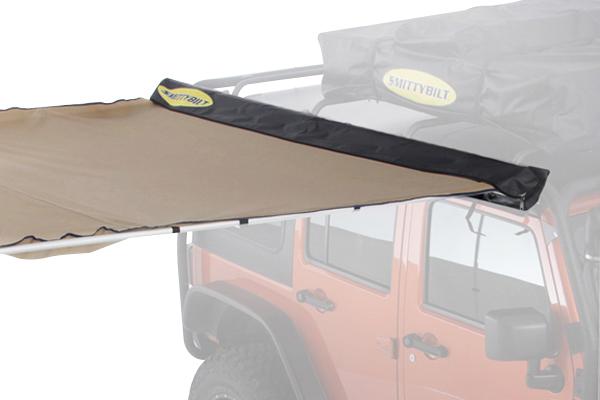 smittybilt overlander awning travel bag