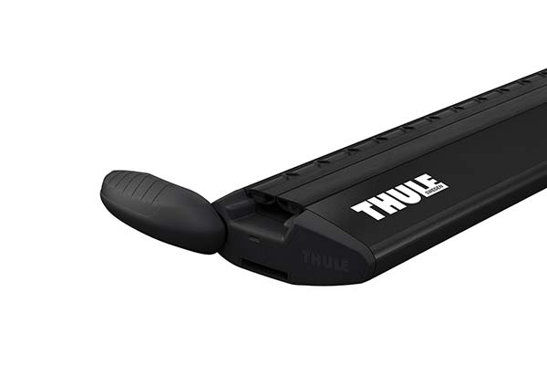 Thule's WingBar Shown In the Open Position