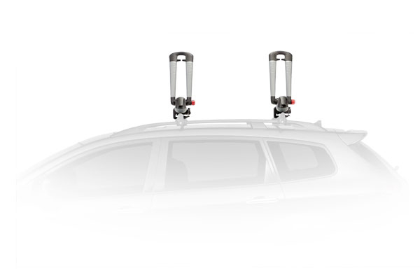 yakima bowdown foldable kayak rack side profile