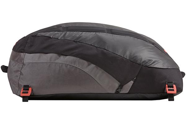 yakima cargopack roof cargo bag side profile