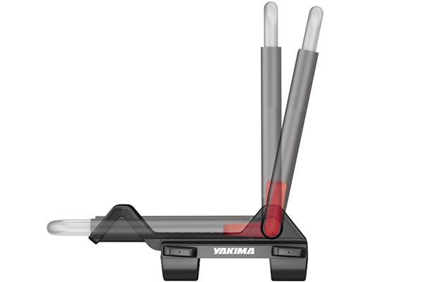 yakima jaylow foldable kayak rack foldable