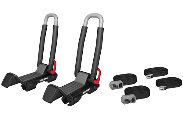 yakima jaylow foldable kayak rack kit