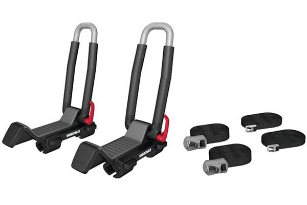 yakima jaylow foldable kayak rack kit