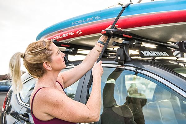 yakima supdawg paddleboard rack securing straps