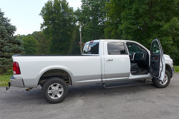 4653 amp powerstep running boards dodge ram 2012