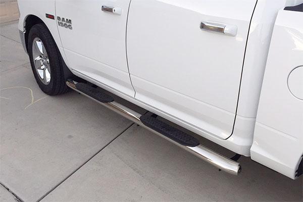 9651 westin pro traxx oval nerf bar dodge ram