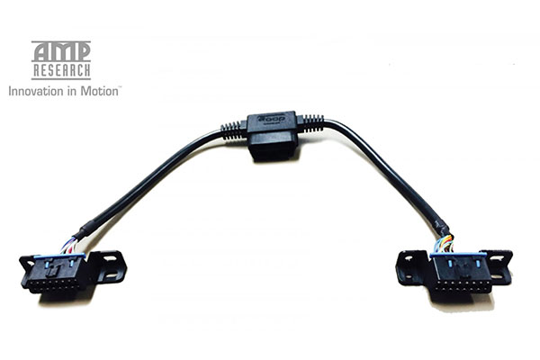 amp obd2 pass through harness