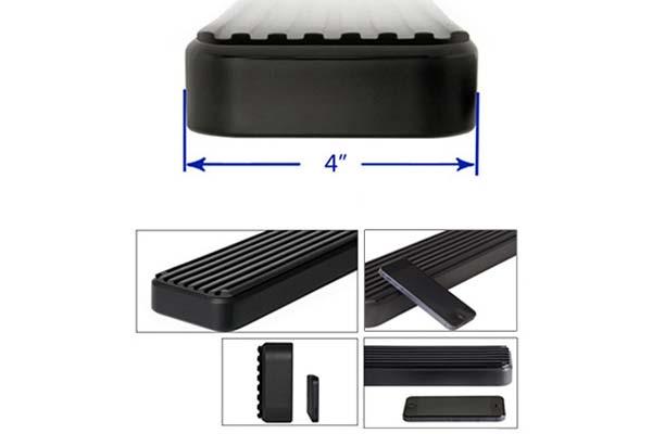 aps 4 istep side steps get into your vehicle easier. Black Bedroom Furniture Sets. Home Design Ideas