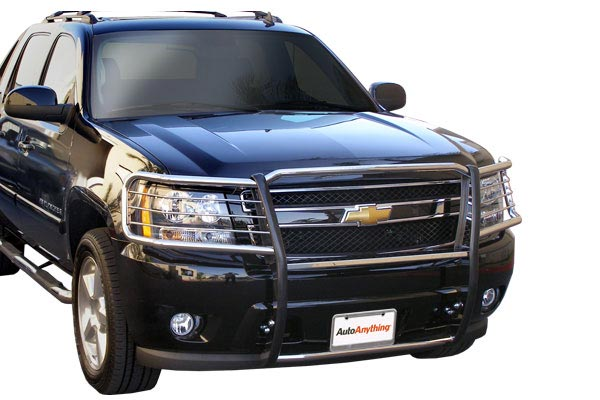 autoanything pl premium grille guards black chevy