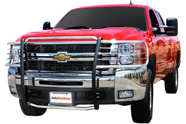 autoanything pl premium grille guards red chevy