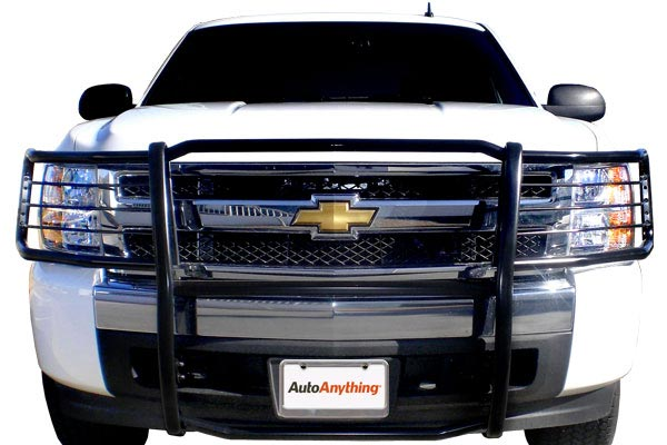 autoanything pl premium grille guards white chevy