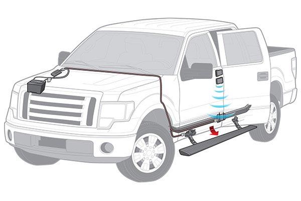 bestop powerboard NX wireless electric running boards transmitter