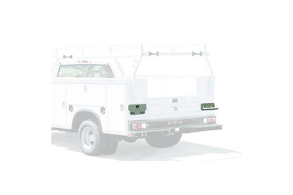 car mega step flat mount truck