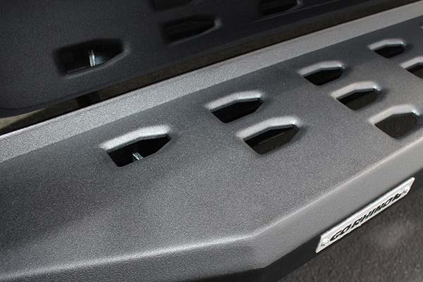 go rhino rb20 running boards detail