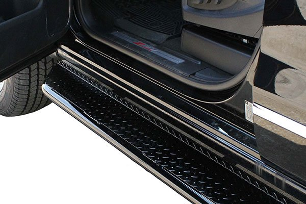 go industries diamond tread running boards easy entry