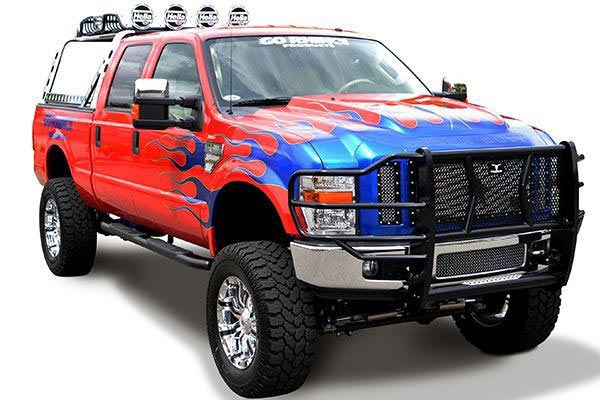 go rhino 5 oval nerf bars super duty
