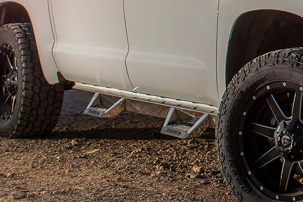 Magnum Rt Step Bars Truck Hoop Step Bars Free Shipping