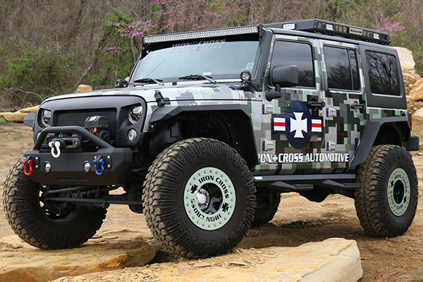 iron-cross-side-arm-step-bars-front-installed