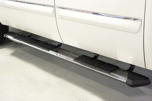 iron cross patriot running boards polished installed