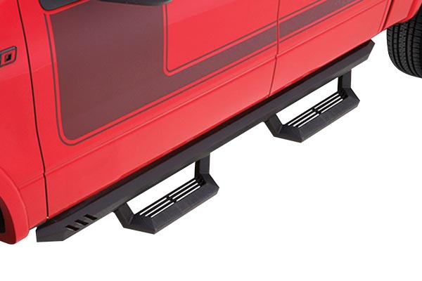 lund rock rails with short steps f150 installed