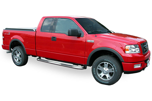 luverne 3 inch round nerf bars cab length f150