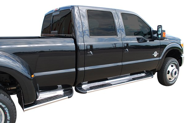 luverne side entry step running boards ford f series installed