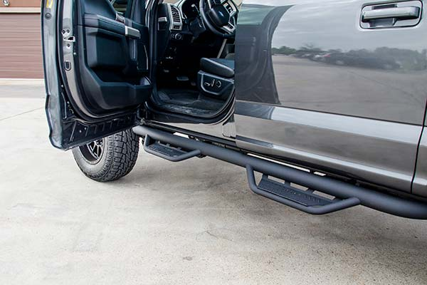 Nfab Running Boards >> N Fab Podium Nerf Steps