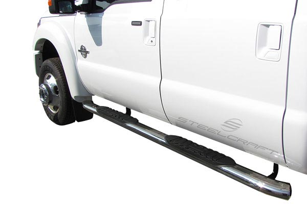 steelcraft 5 inch widestep premium oval nerf bars ford