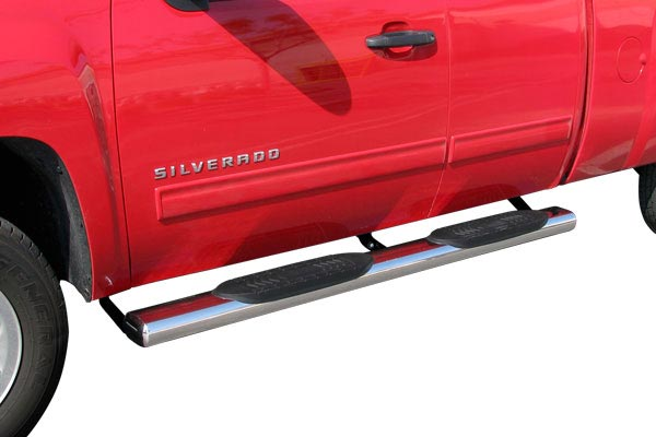 steelcraft 6 inch big foot oval nerf bars silverado
