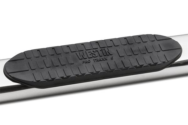 westin pro traxx 6 inch oval nerf bars step detail
