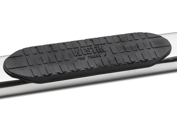 westin pro traxx 6 inch oval nerf bars step detail