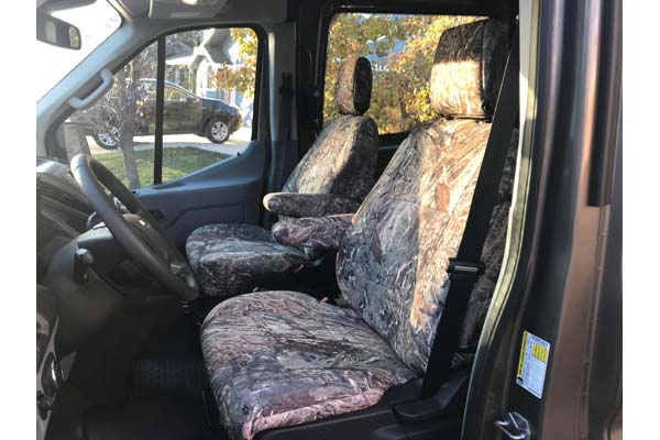 Customer Submitted Image - SKANDA Mossy Oak Camo Neosupreme Seat Covers by Coverking