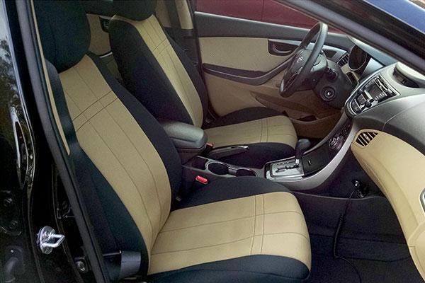 caltrend neosupreme passengerside beige with black trim