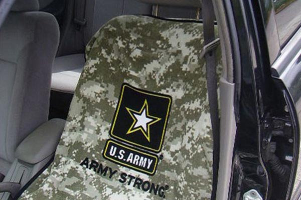 Seat Armour towel seat covers ARMY