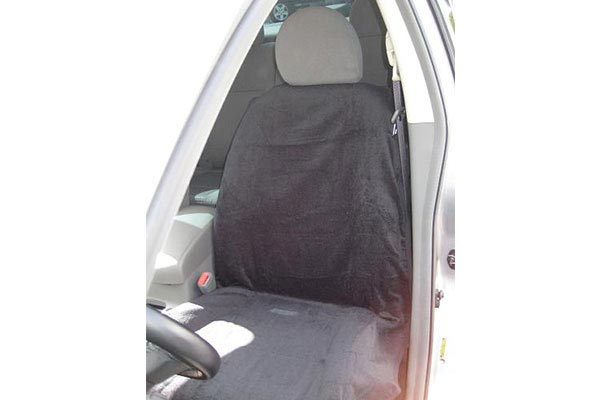 Seat Armour towel seat covers black