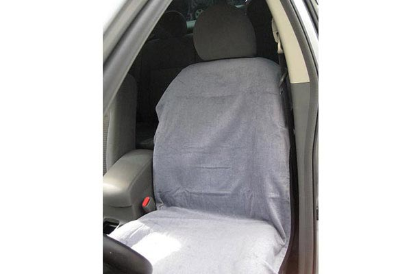 Seat Armour towel seat covers gray