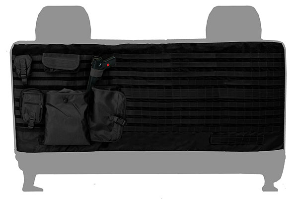a tacs tactical camo canvas seat covers by coverking back